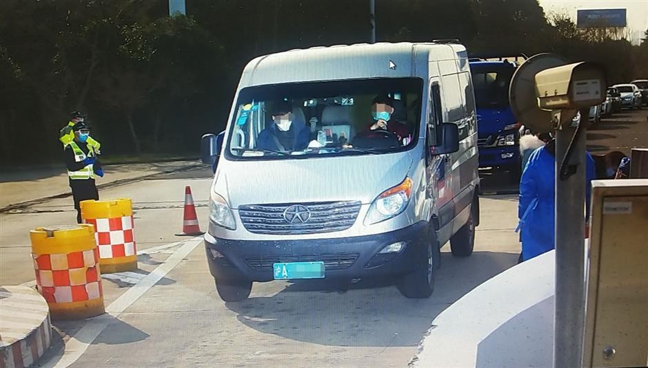Shanghai quarantine for Wuhan hitchhiker
