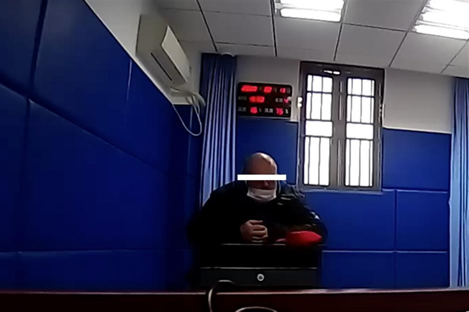 Foreign resident detained for ignoring virus rules