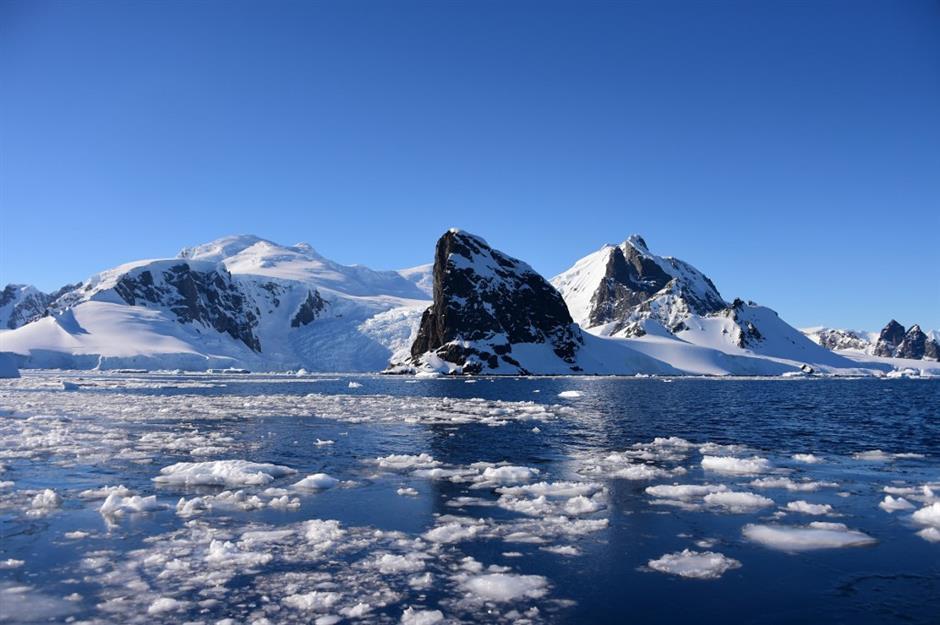 Antarctica registers record temperature of over 20 degrees