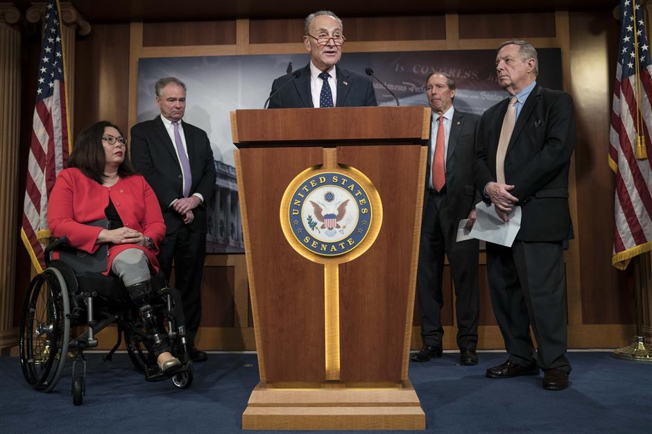 US Senate votes to restrain Trump on Iran