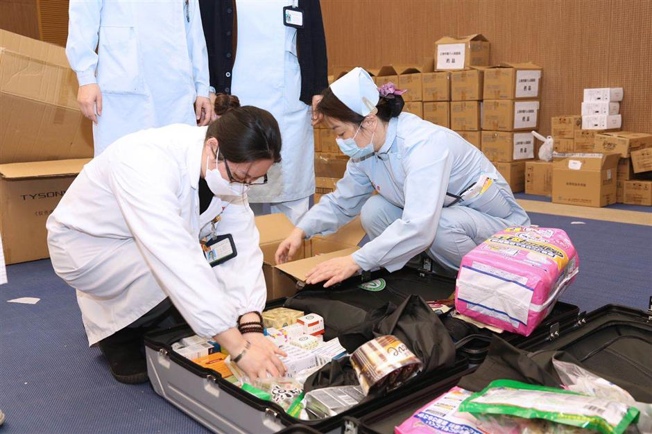 Over 500 additional medical staff heading to Wuhan