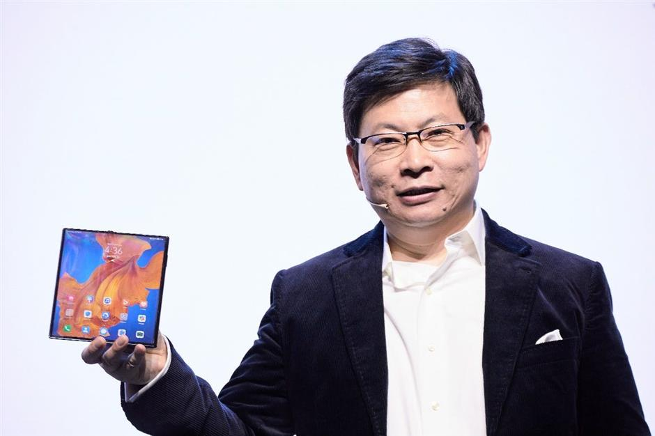 Huawei launches Mate XS foldable smartphone with better screen