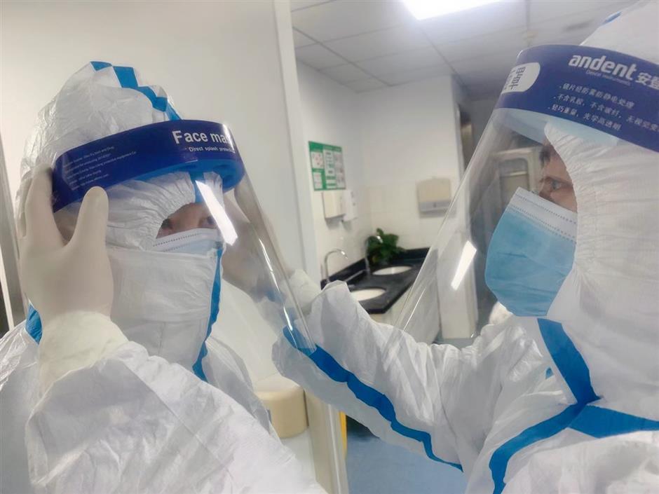 Jing'an fights the noval coronavirus epidemic