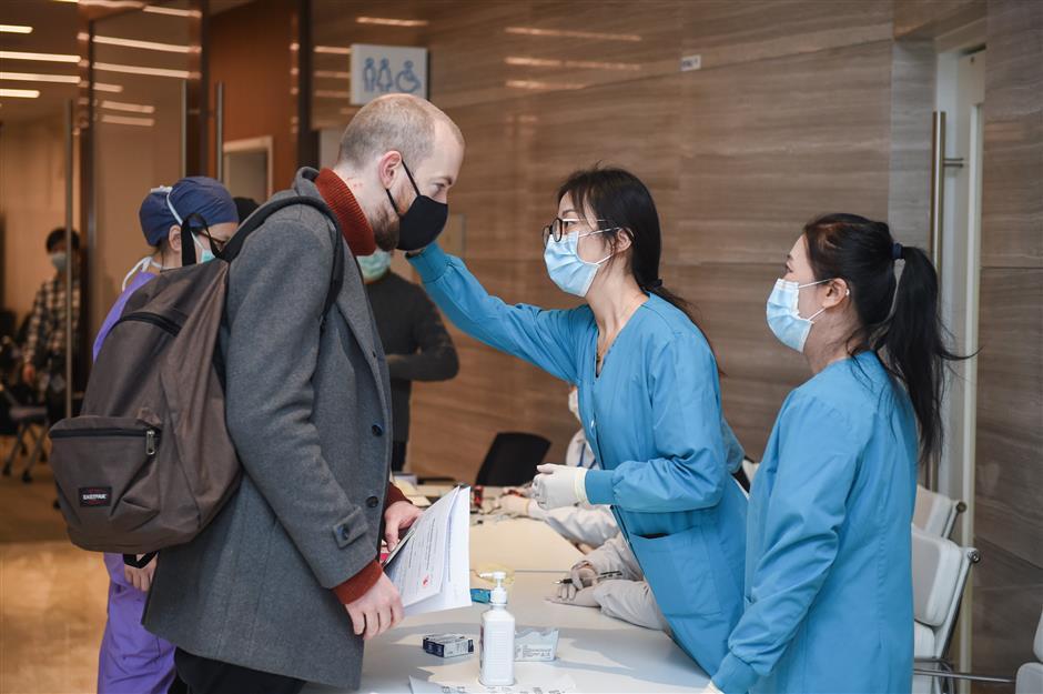 Blood shortage addressed atJiahui International Hospital