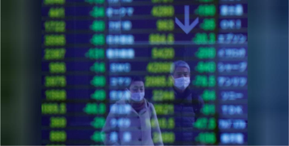 Shares sunk by coronavirus panic, oil prices plunge