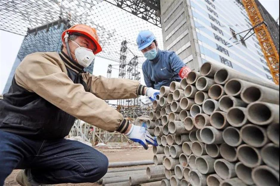 Situation turns normal as work resumes in Songjiang District