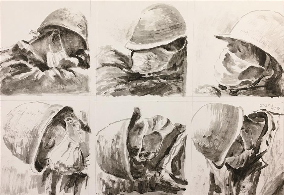 Artists pay homage to heroes in harm's way