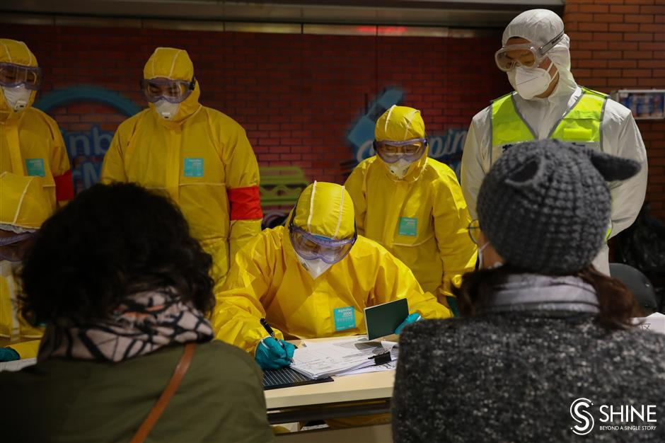 How Shanghai controls the influx of coronavirus cases from overseas