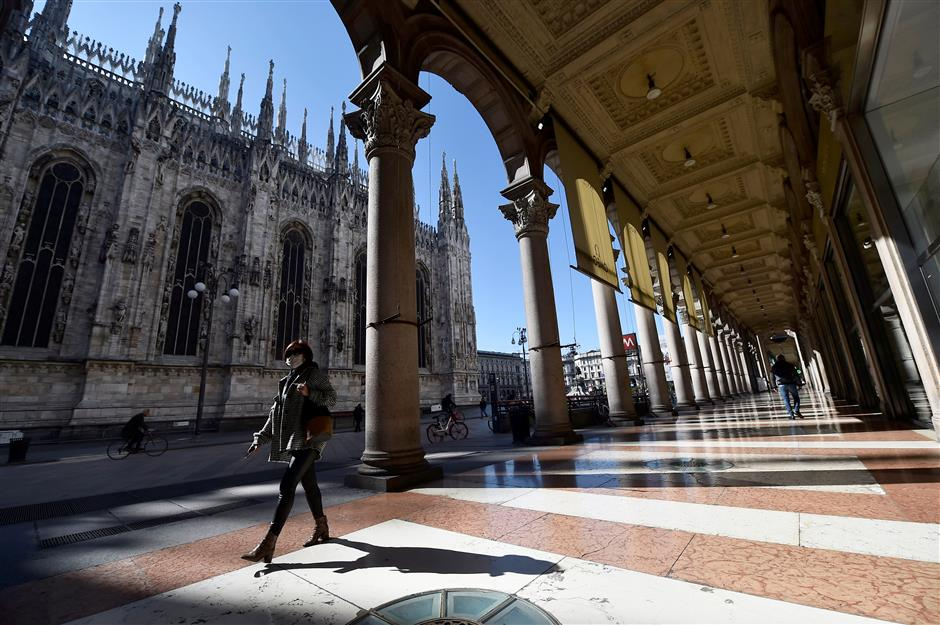 Coronavirus knowledge unexpectedly useful for Chinese student in Milan