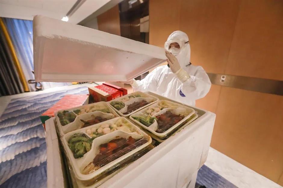 Life's not bad at Pudong quarantine hotel