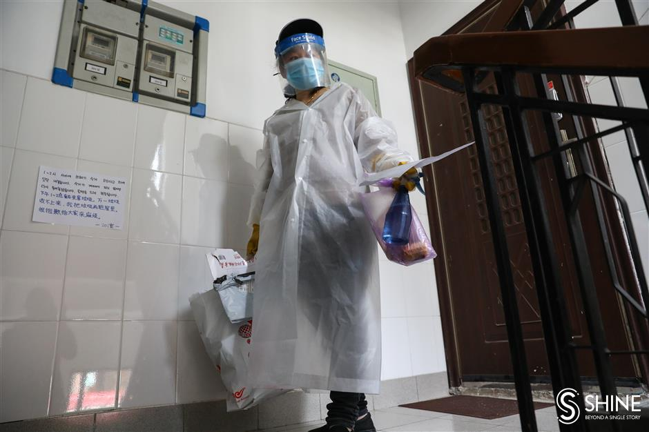 A day in the life of a neighborhood coping with quarantine