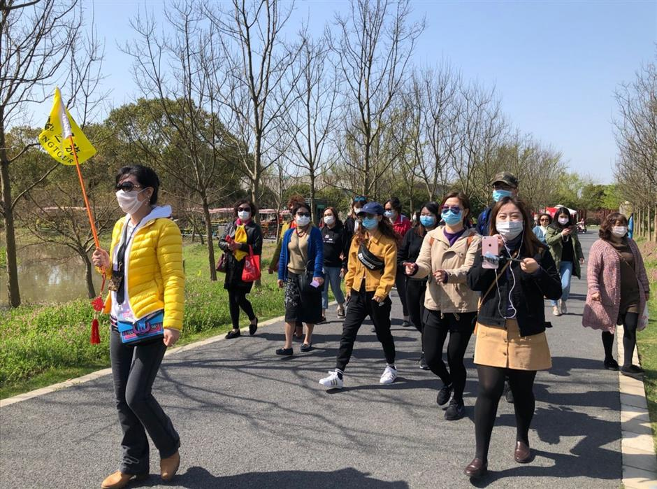 Spring outings offer welcome relief from confinement