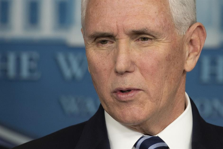 US Vice President Pence tests negative for coronavirus