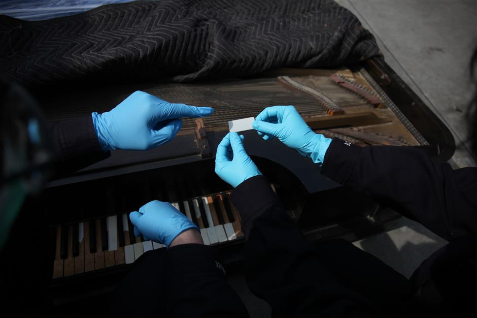 Pianos out of tune with customs officers