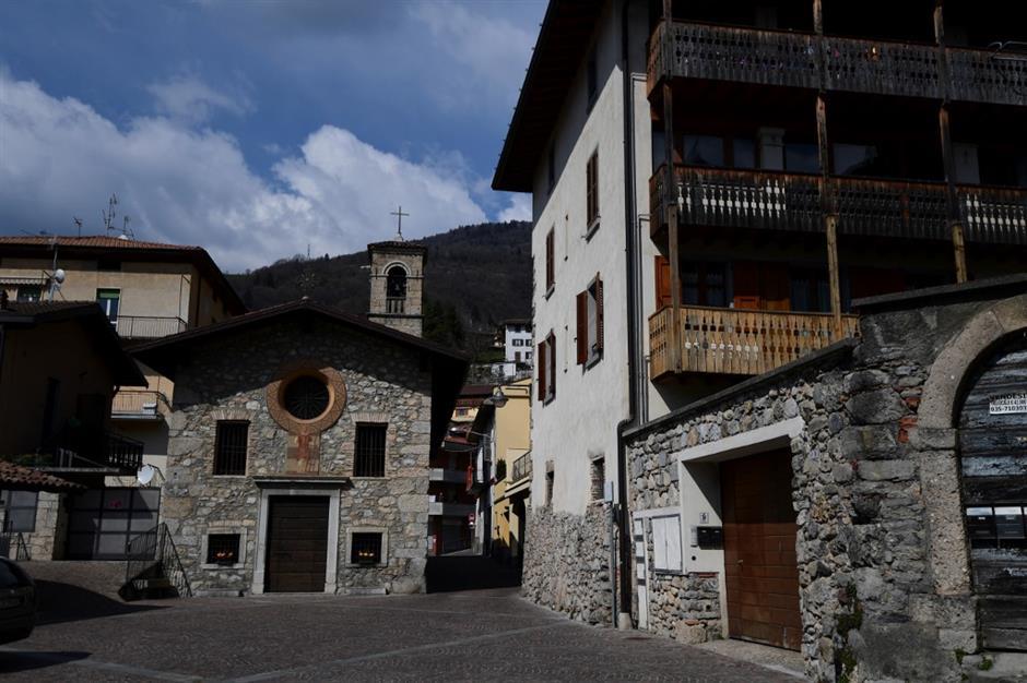 Italian village where virus is deadlier than war