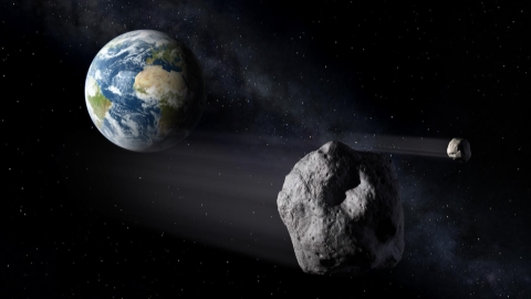 Asteroid nears Earth in an historic fly-by - SHINE