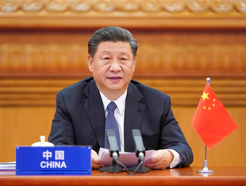 Xi calls for all-out global war against COVID-19 at extraordinary G20 summit
