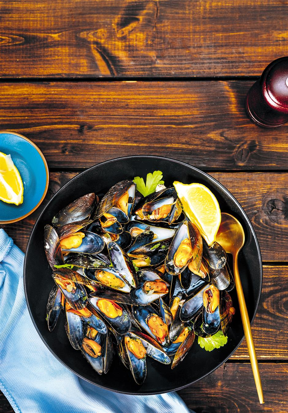 Time to make the most of mussels