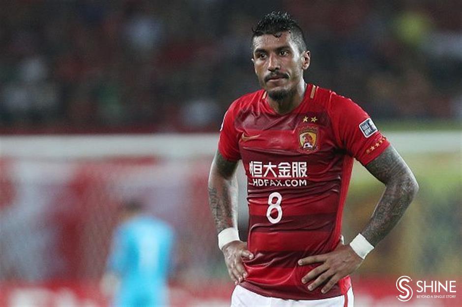 Paulinho among footballers stranded by China's coronavirus lock-out