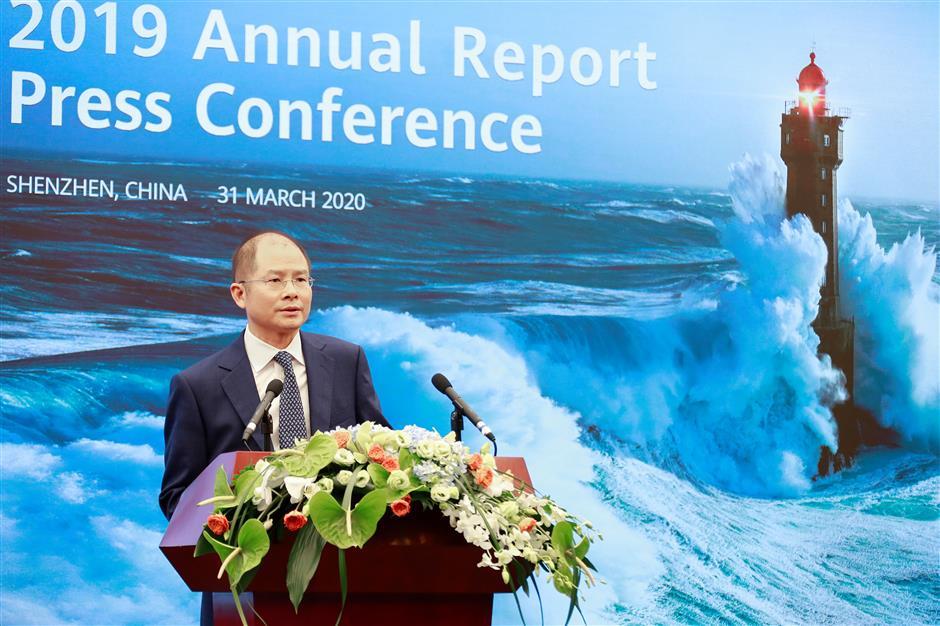 Huawei'srevenue grew 19% for 2019 despite difficulties