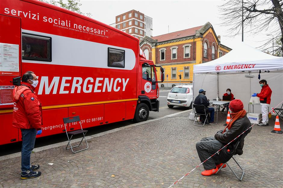 Europe infections near 500,000, WHO chief 'deeply concerned' over rapid escalation