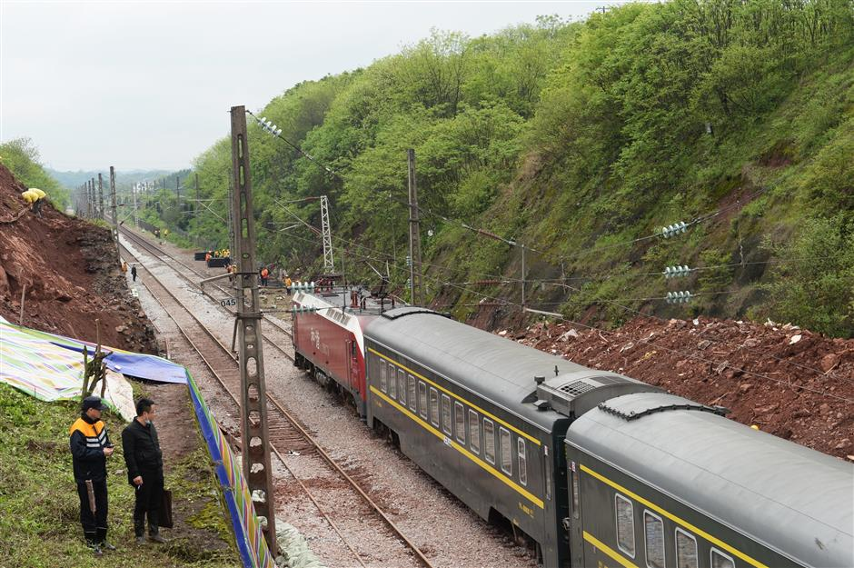 Team to investigateChenzhou train derailment