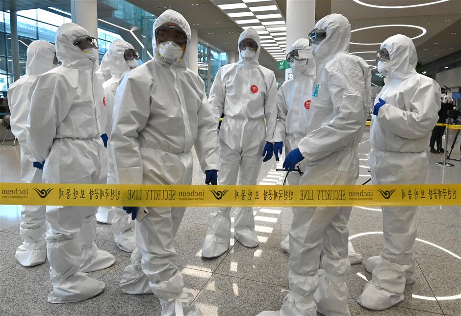 S.Korea reports 89 more COVID-19 cases, 9,976 in total