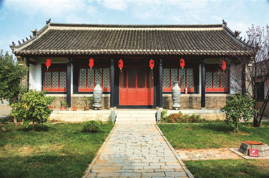 Manor built for Qing landlords