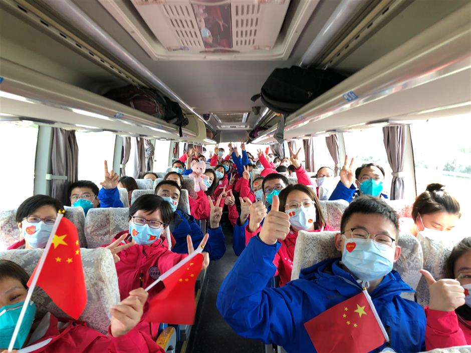 More local medics return home from Wuhan
