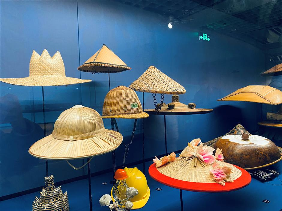 Hats doffed to this delightful exhibition