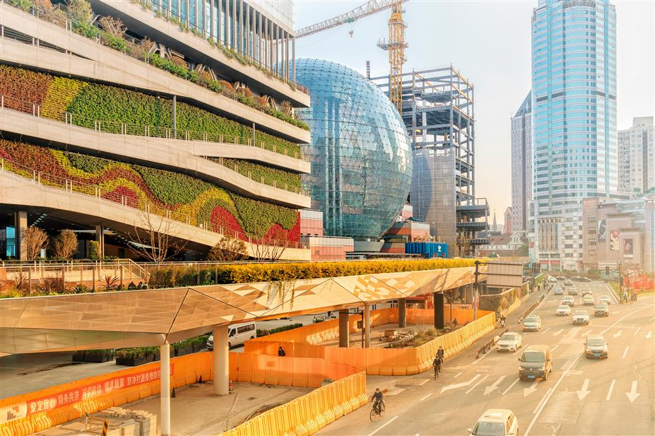 Xuhui presses ahead on landmark projects