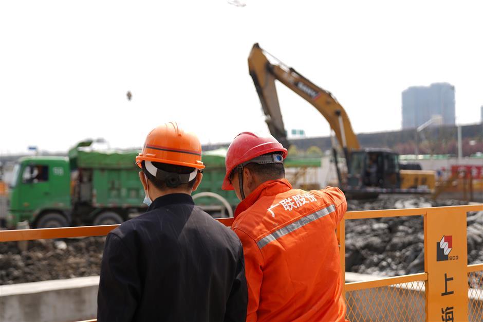 Work resumes at NYU Shanghai's new campus