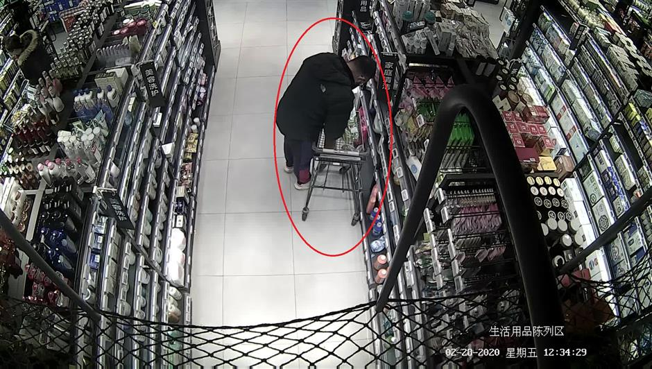 Man suspected of tampering with barcodes