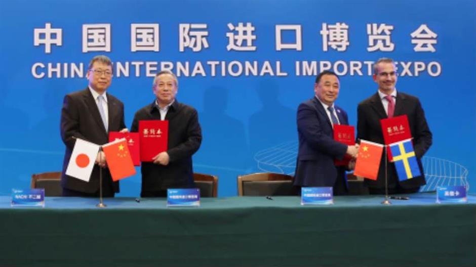 Import expo to expand its equipment area