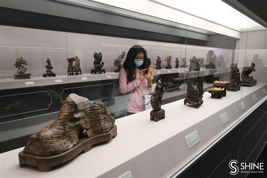 Rocks of ages: Shanghai Museum hosts scholar's stone exhibition