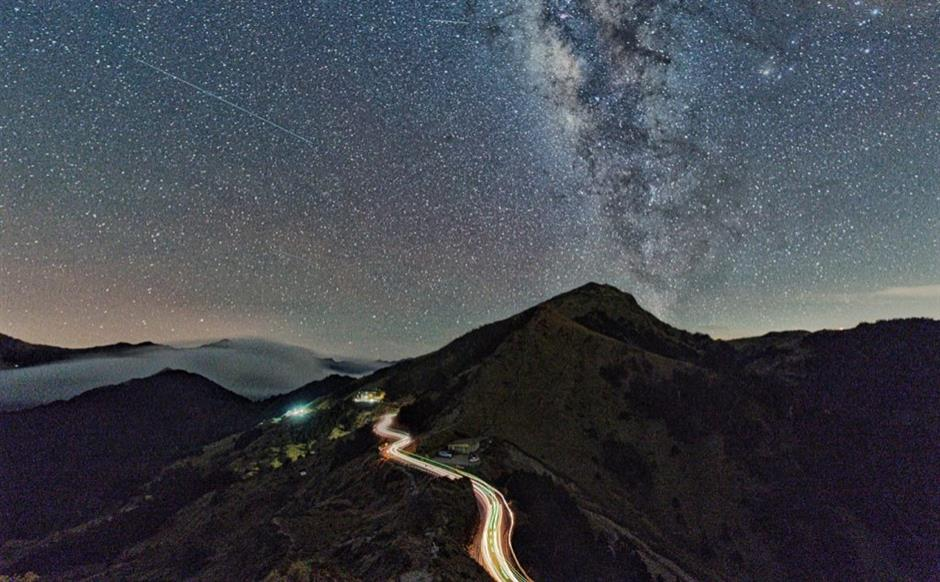 Explore the most beautiful night sky in Taiwan