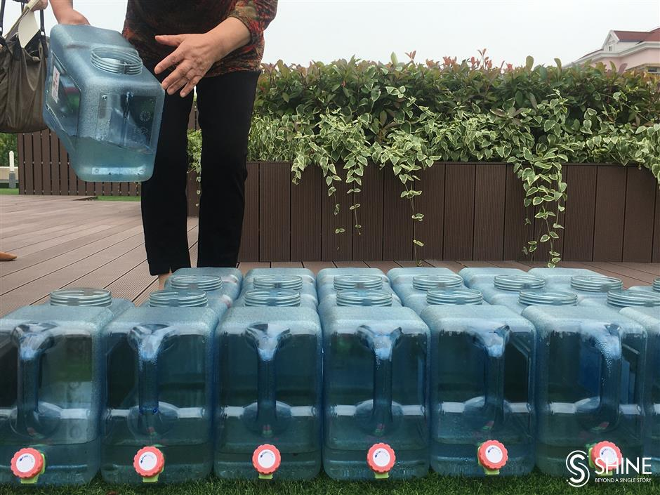 Saving water for a greener, sustainable Shanghai