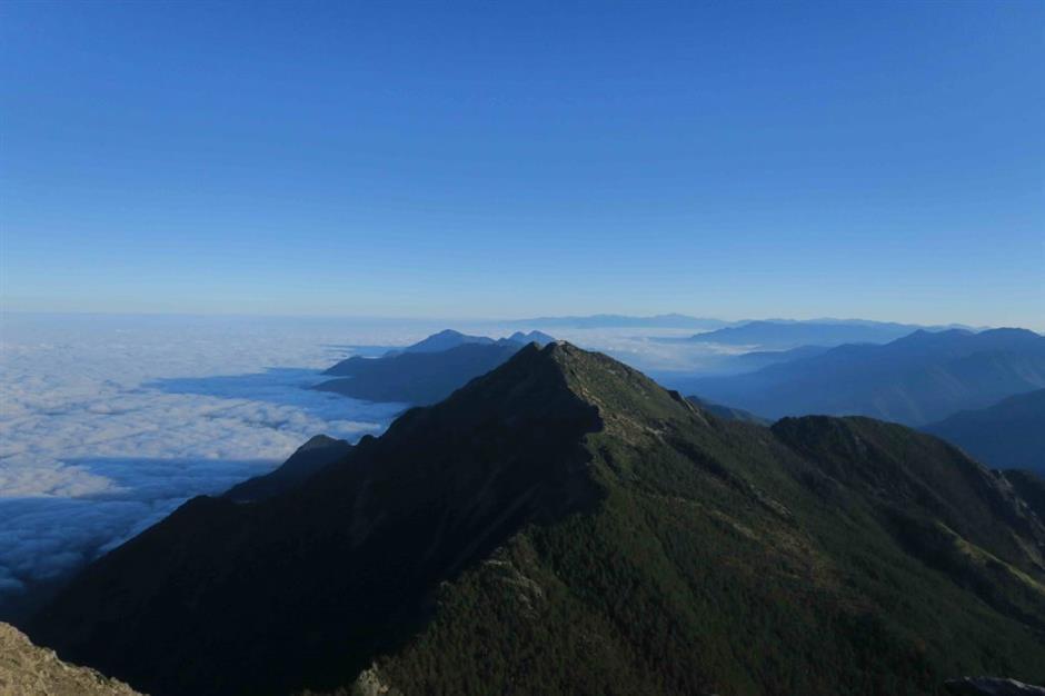 Jade Mountain represents Taiwan's spiritual fortress