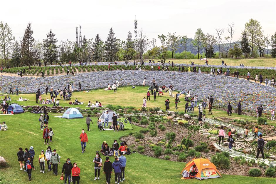 The power of 5 to boost visitor numbers in Songjiang