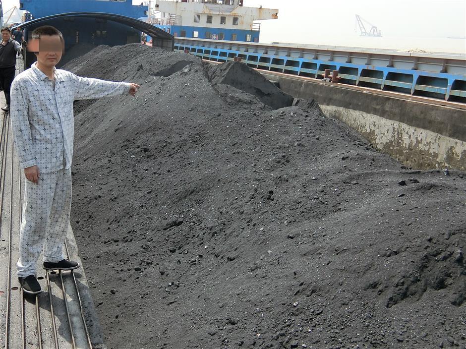 Coast Guard seizes ships with coal, sea sand
