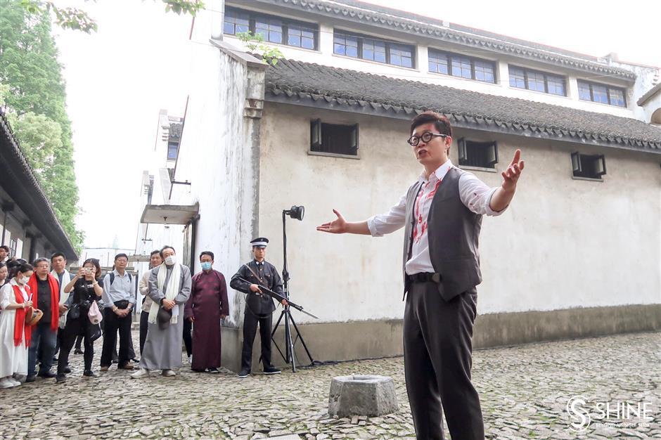 Martyr memorial marks International Museum Day