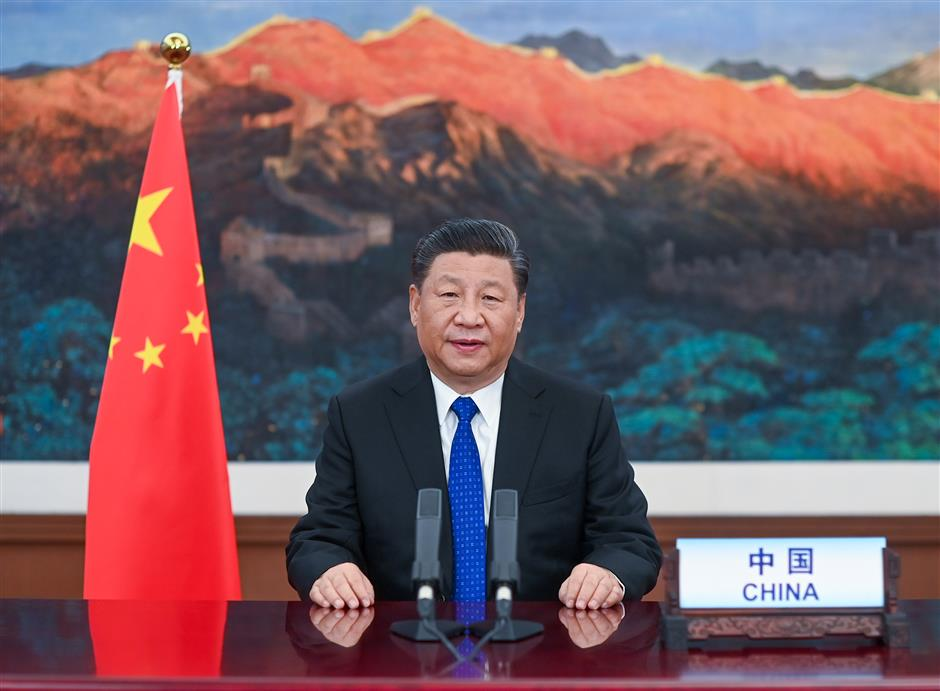 Xi announces measures in global COVID-19 fight