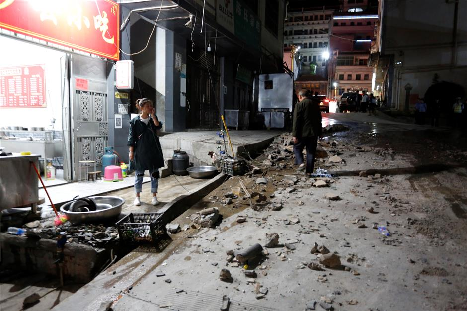 Death toll in southwest China quake rises to 4