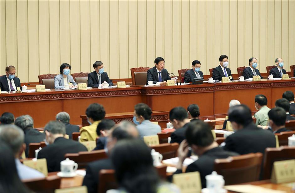 China's top legislature prepares for annual session