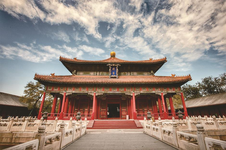 Symbol of old China's education