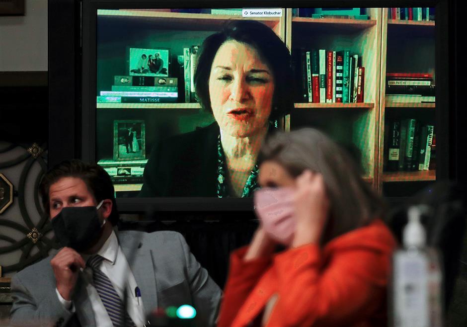 Biden asks Senator Amy Klobuchar to undergo vetting to be running mate: media