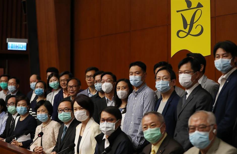 HKSAR LegCo members express support for national security legislation