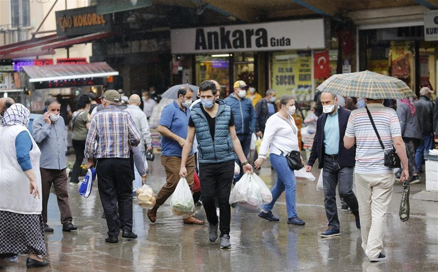 Turkey's COVID-19 cases top 155,000; Iran's tally crosses 133,000