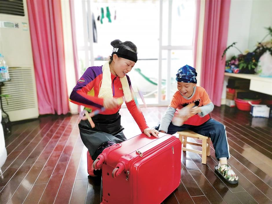 Thousands join online sports meeting in Jiading