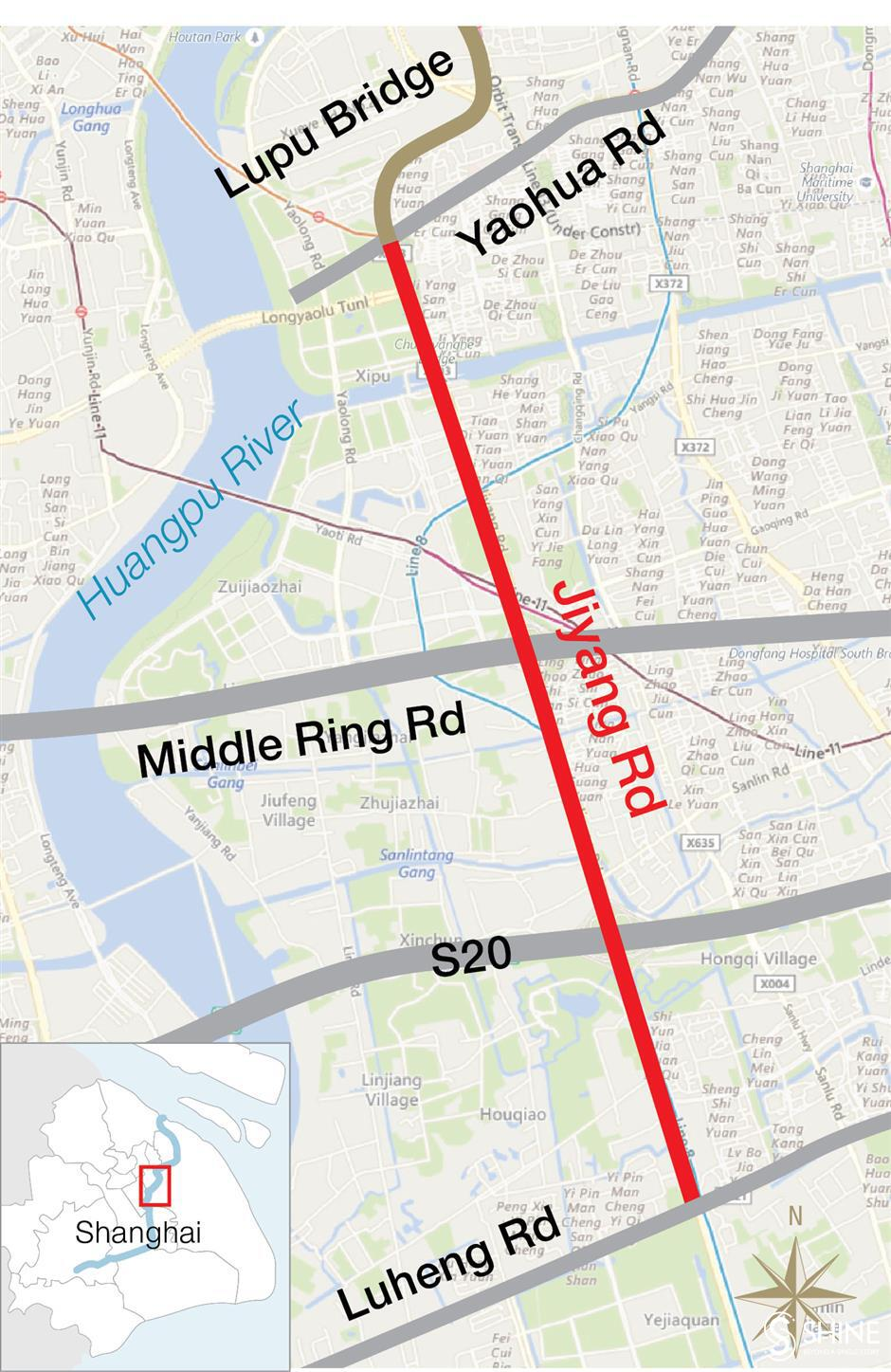 Pudong traffic restrictions start on Friday